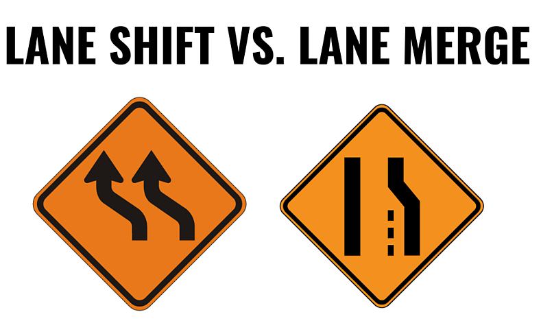 Lane Shift vs Lane Merge